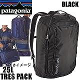 パタゴニア PATAGONIA パタゴニア リュック バッグ TRES PACK 25L ブラック トレスパック BLACK バックパック・リュックサック