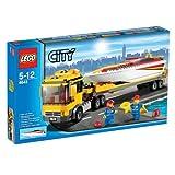 レゴ シティ  パワーボート・キャリアカー 4643