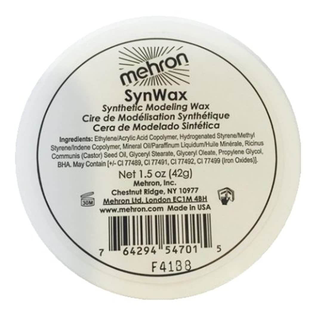 付与曲シェルター(3 Pack) mehron Modeling SynWax (並行輸入品)