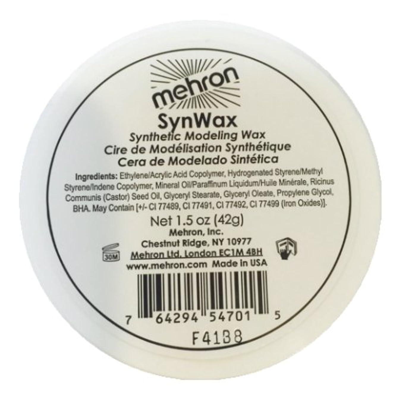 まっすぐにする電子レンジ戦争(6 Pack) mehron Modeling SynWax (並行輸入品)