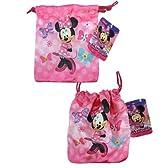 Disney (ディズニー) ミニーマウス きんちゃく 袋 【 コップ袋 給食袋 巾着 小物入れ グッズ 輸入 雑貨 】