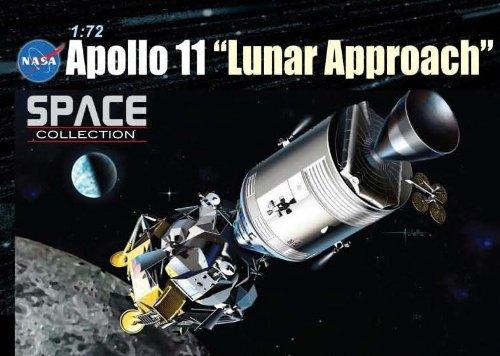 1/72 アポロ11号月面着陸 司令船コロンビア + 月着陸船イーグル