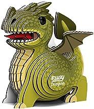 EUGY 024 Dragon Eco-Friendly 3D Paper Puzzle [New Seal]