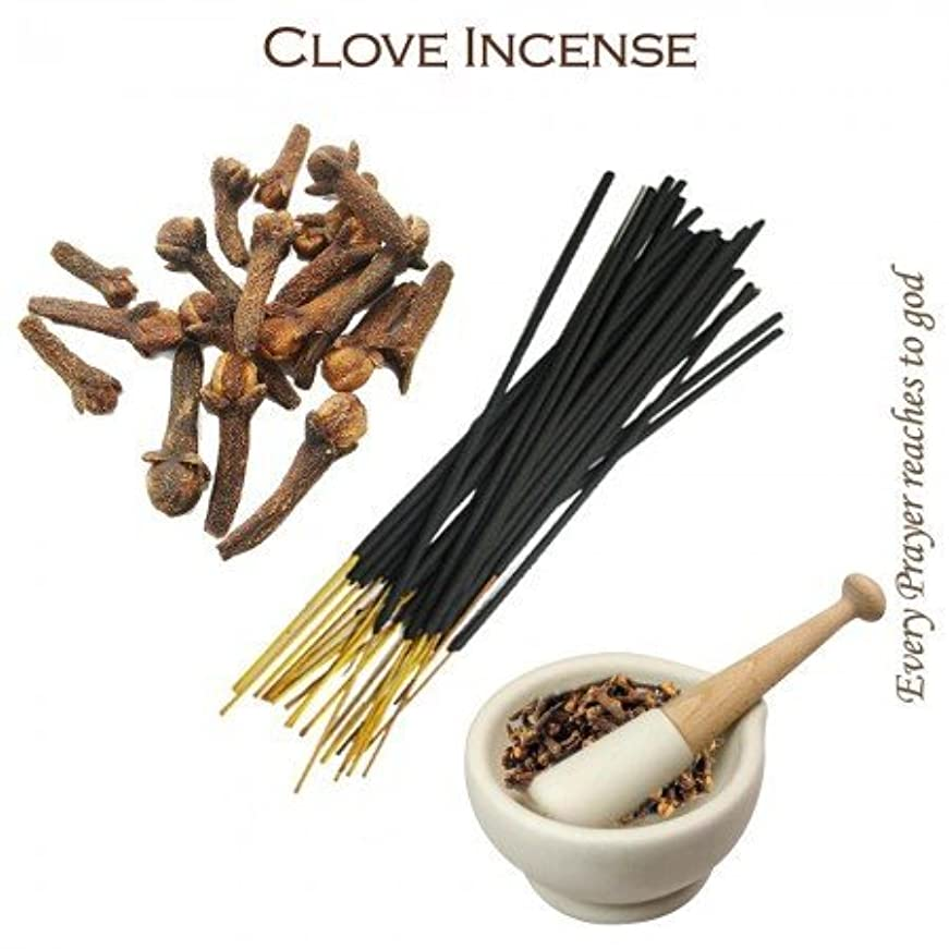 テンション活発活発Divine World Clove Incense - 100 gms