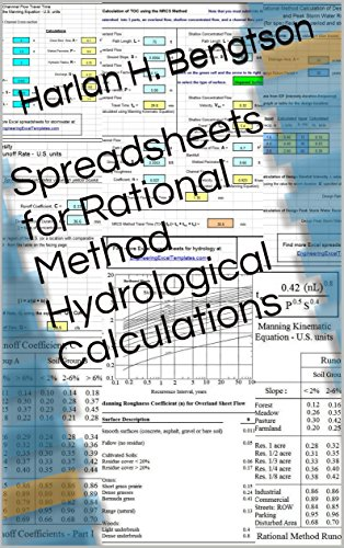 Spreadsheets for Rational Method Hydrological Calculations
