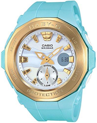 [カシオ] ベビージー Gライド タイドグラフ搭載 BGA-220G-2AJF 腕時計 ブルー