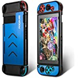Nintendo Switch Case Cover, Portable Aluminium Hard Protective Travel Carry Case Shell Pouch for Nintendo Switch and Joy-Con