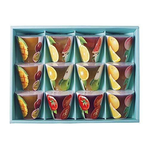 銀座千疋屋 銀座フルーツジュレ PGS-131 【せんびきや フルーツ くだもの 果物 詰め合わせ ギフトセット セット 有名 人気 おいしい】