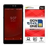 gooのスマホ g07+ (グーマルナナプラス) 【OCNモバイルONE SIMカード付】 (音声SIM, ブラックパネル)