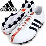アディダス(adidas) 日本人仕様 ハードグラウンド用 サッカースパイク 25.0cm パティーク 11コアージャパン pathiqe 11core-JAPAN TRX HG M29344 ランニングホワイト/コアブラック/ソーラーブルー 国内正規品