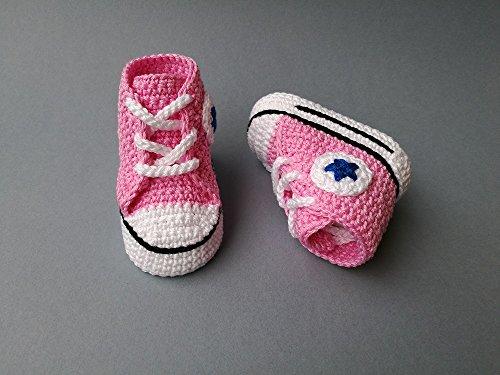 Crochet Pattern baby Converse ...
