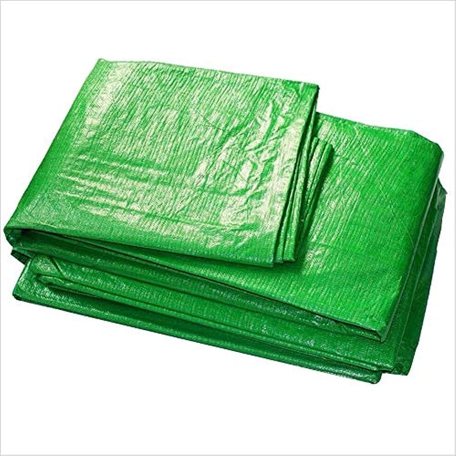 熱おめでとうソフィー12J-weihuiwangluo 防水布防水防水シートトラック防水シート屋外サンシェード防塵防風高温アンチエイジング (Color : 緑, サイズ : 5x7M)