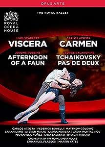 ロイヤルバレエ ヴィサラ/牧神の午後/カルメン/チャイコフスキーのパ・ド・ドゥ[DVD]