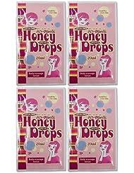 ハニードロップス(Honey Drops) 20ml 使い切りローション A柄 × 4個