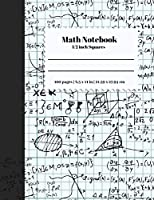 Math Notebook 1/2 Inch Squares: Lined Graph Paper Composition Notebook / Large 8.5X11 inch / 2 squares per inch / Math Notebook for Kids, Teens, Students / for School / For Math And Drawing / 1/2 Inch Squares /