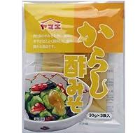 ヤマエ からし酢みそ (個食) 30gx3