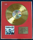 Frankie Goes to Hollywood - Limited Edition CD 24 Carat Gold Coated LP Disc - Liverpool
