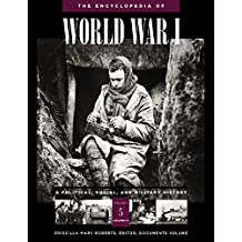 Encyclopedia Of World War I: A Political, Social, And Military History