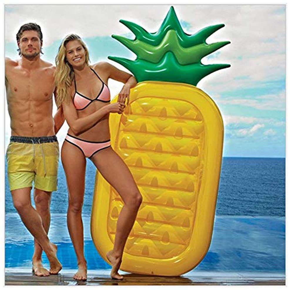 モーター深遠望むプールの浮遊おもちゃの夏の水泳の膨脹可能なパイナップルの浮遊列、水泳の膨脹可能なおもちゃの大人及び子供Floa(膨脹可能な)