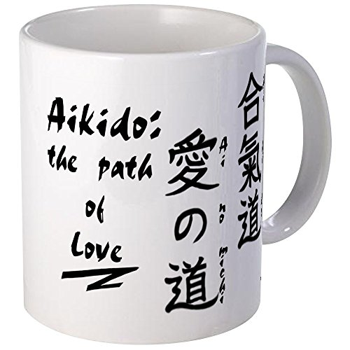CafePress–合気道Aiマグ–Uniqueコー...