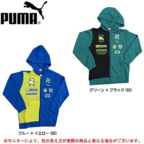 PUMA(プーマ) FD フーデットニットジャケット(ジュニアサイズ) 02VICTORIA B 02 140