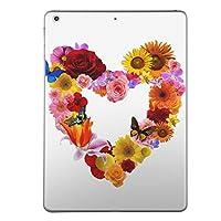 iPad Air スキンシール apple アップル アイパッド A1474 A1475 A1476 タブレット tablet シール ステッカー ケース 保護シール 背面 人気 単品 その他 ユニーク ラブリー ハート 花 カラフル 003195
