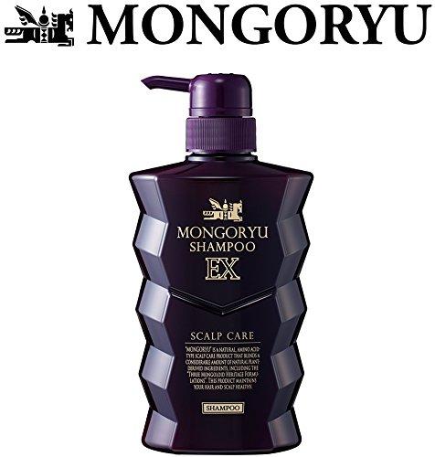 モンゴ流 スカルプシャンプー EX400ml / 【2018年リニューアル最新版】 フレッシュライムの香り MONGORYU
