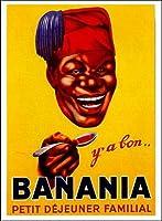 ポスター フレンチアド 広告 アンティーク BANANIA
