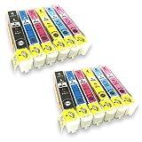 [SkyERIS] EPSON 互換インク カートリッジ IC6CL70L ×2セット 6色パック×2 (12本セット) 増量タイプ [フラストレーションフリーパッケージ(FFP)]