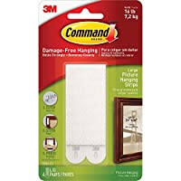 (6) - Command Large Picture Hanging Strips