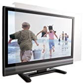 ロアス 50インチ対応 液晶テレビ保護パネル 透明色 表面アンチグレア加工 帯電防止仕様 パネル厚さ3.8mm LCG-050AG