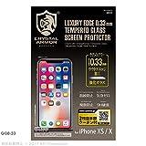 ラウンドエッジ強化ガラス 0.33mm for iPhone X