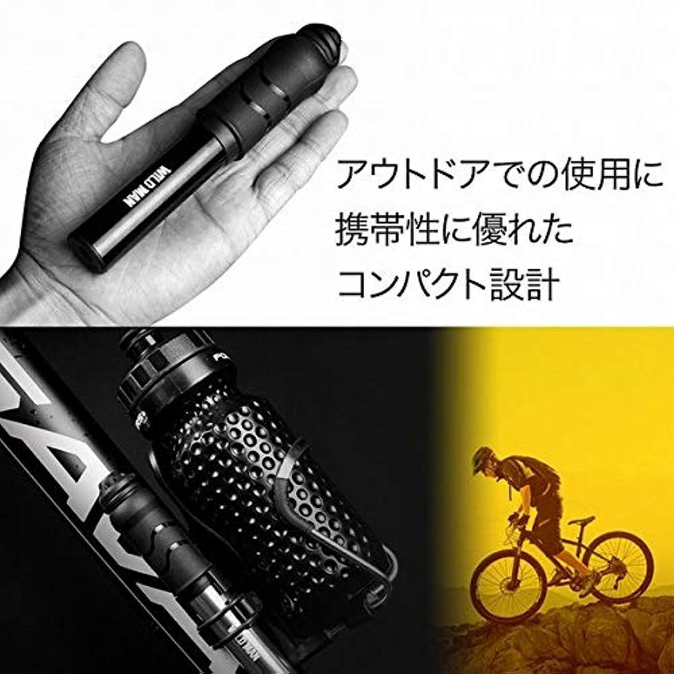 ドックリーンパキスタンロードバイク 空気入れ 携帯 仏式 米式 自転車 ミニポンプ