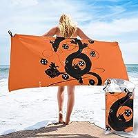 大判 ビーチタオル ドラゴンボール (49) 家庭用 ビーチタオル 海辺旅行 ビーチ 薄手 軽量 湯上りタオル スボッツタオル 海水浴 バスタオル 旅行タオル 肌触り良い 通気性 プール