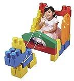 ピープル 1歳には全身でブロックプレミアム 乗って遊...