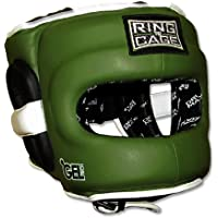 デラックスFull Face GelTech Sparring Headgear forボクシング、ムエタイ、MMA , Kickboxing