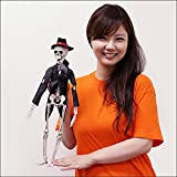 ハロウィン装飾 スケルトン花婿 Flexible Skeleton - groom  24369