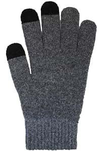 アルタ タッチパネル対応手袋 タッチグローブ プレーン グレー AR0628066