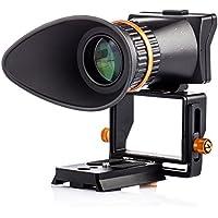 TARION TR-V2 液晶 ビューファインダー 2.5倍 デジタル 一眼レフ カメラ ミラーレス一眼 撮影用 LCD viewfinder 最大3.2インチ Canon Nikon Sony Panasonic など対応