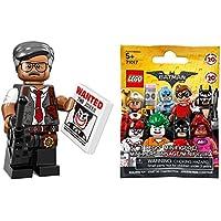 レゴ バットマン ザ?ムービー ミニフィギュアシリーズ ゴードン市警本部長(未開封品)|THE LEGO Batman Movie Minifigures Series Commissioner Gordon 【71017-7】
