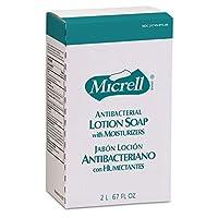 GOJO 2257-04 Micrell NXT Antibacterial Lotion Soap 2000mL Refill (Pack of 4) [並行輸入品]