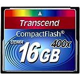 Transcend 400倍速CFカード 16GB 永久保証 TS16GCF400