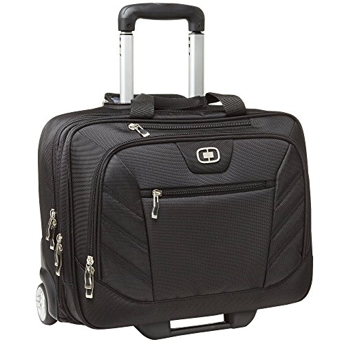 (オジオ) Ogio ルーシン ノートPC/タブレット端末対応 ビジネス旅行キャリーバッグ (ワンサイズ) (ブラック)