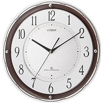 シチズン 高感度 電波 掛け時計 アナログ スリーウェイブM805 CITIZEN 4MY805-006