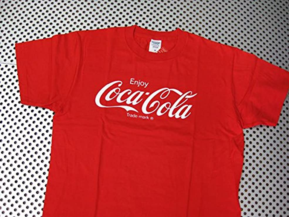 かび臭い明らかにするリマCoca-Cola/コカコーラ プリントTシャツ/レッド(CC-VT2B2R) コカコーラブランド USA アメカジ ブランド ドリンク アメリカン雑貨 アメリカ雑貨 コカコーラ