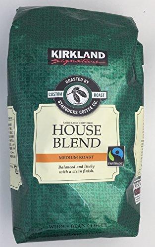 KIRKLAND (カークランド) シグネチャー スターバックス ロースト ハウスブレンドコーヒー 907g