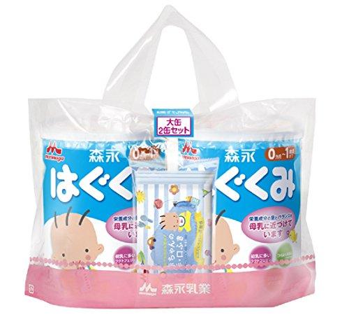 森永はぐくみ 大缶 景品付 810g 2缶
