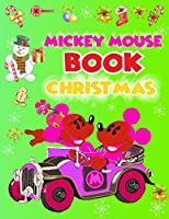 "Mickey Mouse Book Christmas: Mickey Mouse Book Christmas, Mickey Mouse Coloring Book For Adults. 40 Page - 8.5"" x 11"""