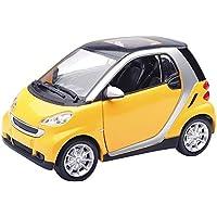 おもちゃ NewRay 1/24 Diecast ダイキャスト smart スマート Car ForTwo Special Edition (Yellow) レプリカ ミニチュア ミニカー 模型 車 飛行機 人形 [並行輸入品]
