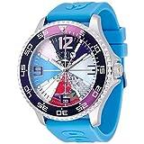 トレアッカ イタリア 3H ITALIA 腕時計 M1.AZZURRO メンズ ラバーベルト 替ベルト付き [並行輸入品]
